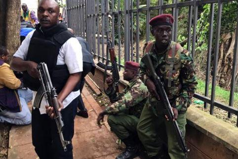 美军确认驻肯尼亚基地遭恐怖袭击_4名袭击者被杀